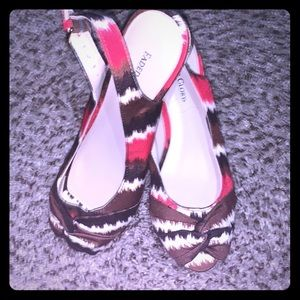 Faded glory wedges